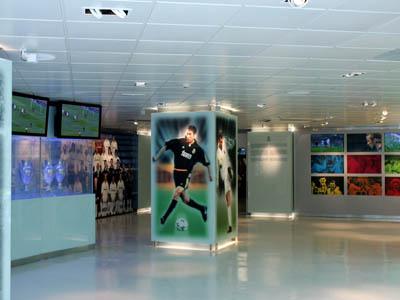 98863439ece27 Interior del Museo Real Madrid
